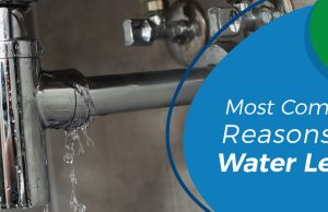8 Most Common Reasons for Water Leaks