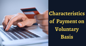 Features of Making Payment on a Voluntary Basis on GST Portal