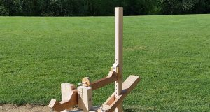 how to make a homemade baseball pitching machine