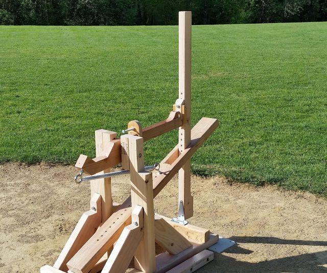 how to make a homemade baseball pitching machine