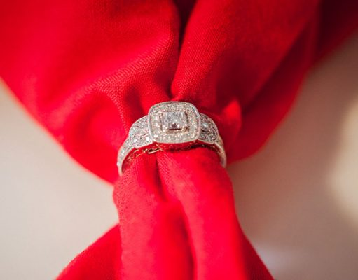 Three stones engagement ring styles