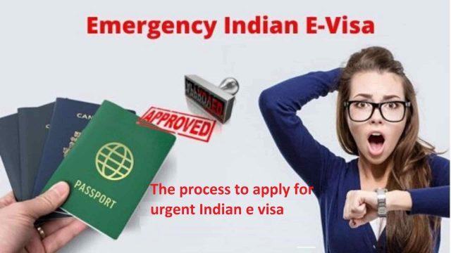Urgent Indian e-Visa
