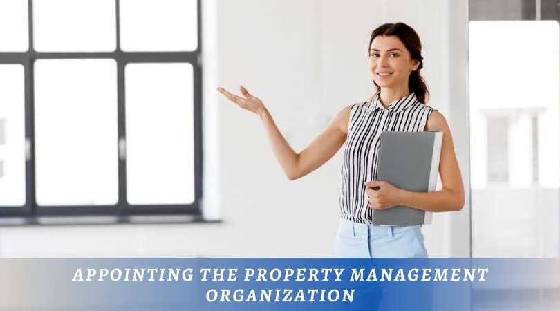 Appointing Property Management Organization