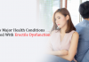 A few Major Health Conditions connected With Erectile Dysfunction