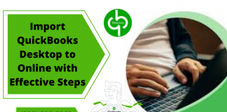 Import QuickBooks Desktop to Online