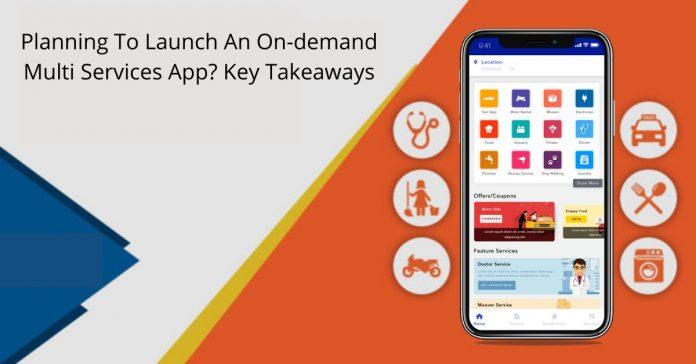 On-demand Multi Services App