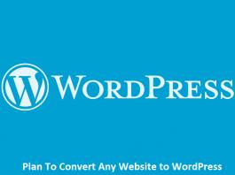 Plan To Convert Any Website to WordPress
