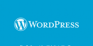 Plan To Convert Any Website to WordPress
