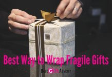 wrap fragile gifts