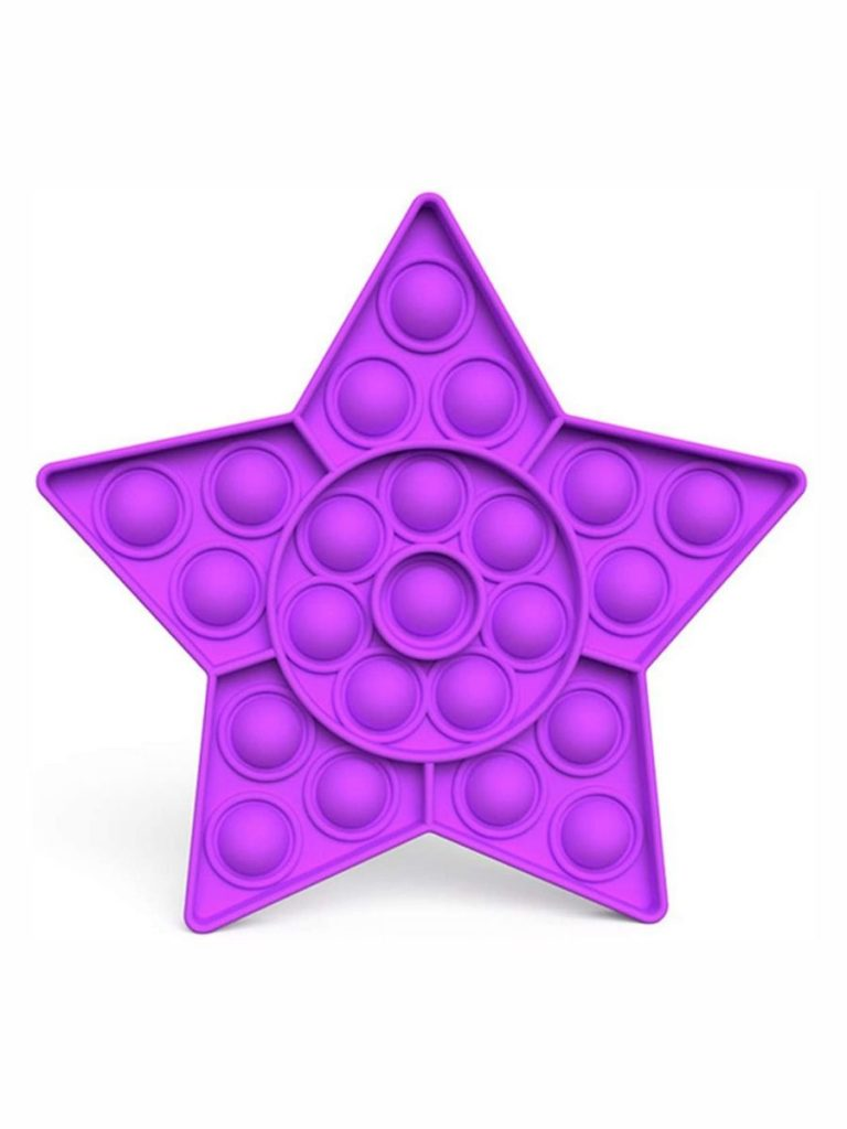 STAR SHAPE SILICONE STRESS RELIEF TOY