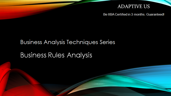 Business Rules Analysis