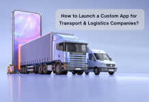 Custom App for Transport & Logistics Companies