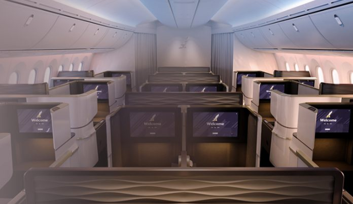 Business class flights to Abu Dhabi