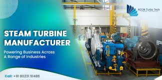 Small steam turbines manufacturers