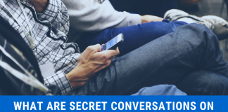 secret conversations on Facebook