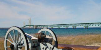 Mackinac Bridge - Vacation in Michigan