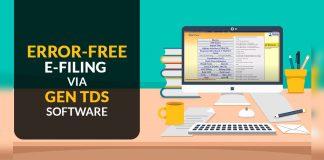Online-E-filing via Gen TDS Software