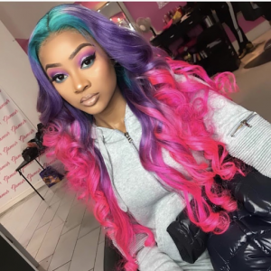 Go from one length or color to another with human hair wigs