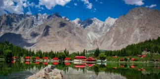lakes in Pakistan.