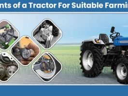 Components of a Tractor For Suitable Farming in India