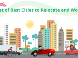 List of Best Cities to Relocate and Work