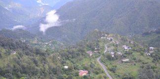 View of Nainital from Golu Temple